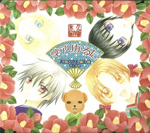 Tachibana Higuchi, Gakuen Alice, Mr. Bear, Hotaru Imai, Natsume Hyuuga