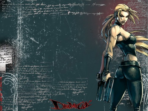 Capcom, Devil May Cry, Trish Wallpaper