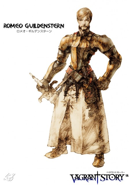 Square Enix, Vagrant Story, Romeo Guildenstern