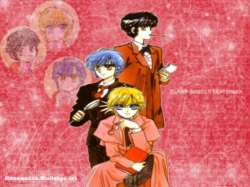 CLAMP, Studio Pierrot, Man of Many Faces, CLAMP Campus Detectives, Suoh Takamura Wallpaper