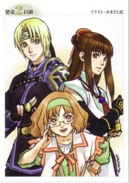 Mikisato, Konami, Suikoden Tierkreis, Yula, Moana