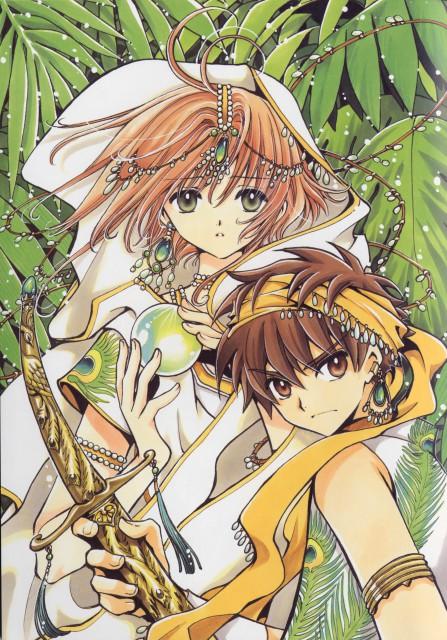 CLAMP, Tsubasa Reservoir Chronicle, Album de Reproductions, Syaoran Li, Sakura Kinomoto