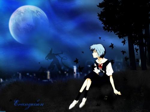 Yoshiyuki Sadamoto, Gainax, Neon Genesis Evangelion, Rei Ayanami Wallpaper