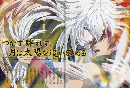 Sousei no Aquarion, Apollo, Toma (Sousei no Aquarion), Animage, Magazine Page