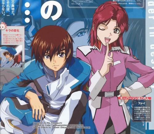 Rie Kawaguchi, Sunrise (Studio), Mobile Suit Gundam SEED, Fllay Allster, Kira Yamato