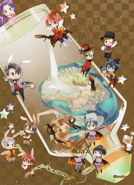 Kazuaki, Starry Sky Art Book Vol.1, Starry Sky, Kanata Nanami, Azusa Kinose