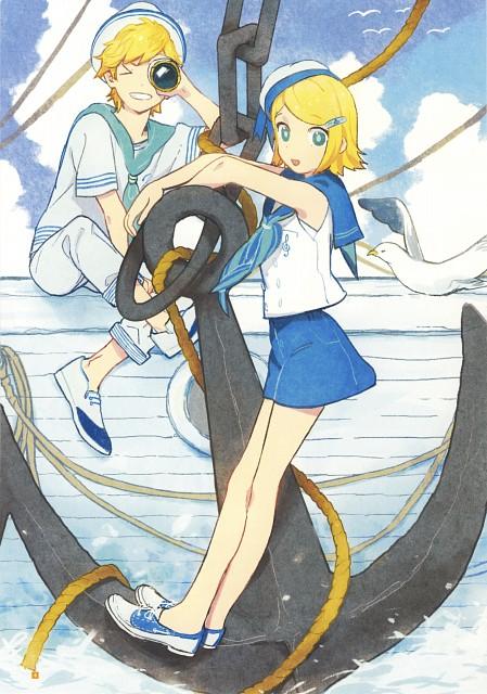 Mitosa, CV02 Kagamine Rin/Len, Vocaloid, Rin Kagamine, Len Kagamine