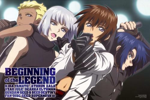 Sunrise (Studio), Mobile Suit Gundam SEED Destiny, Dearka Elthman, Athrun Zala, Kira Yamato