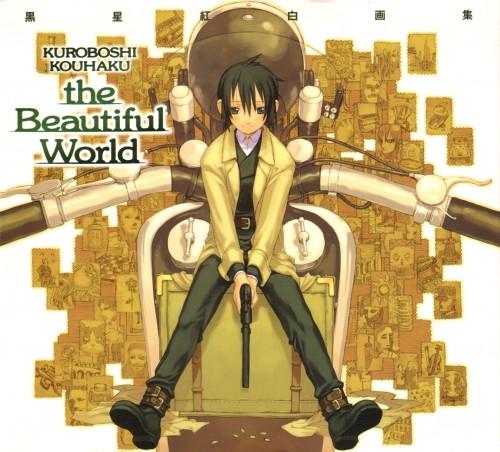 Kouhaku Kuroboshi, Kino no Tabi, The Beautiful World, Kino, Artbook Cover