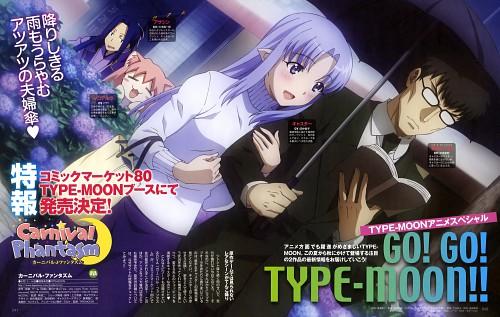 Tomohito Hirose, Lerche, TYPE-MOON, Carnival Phantasm, Kuzuki Souichirou