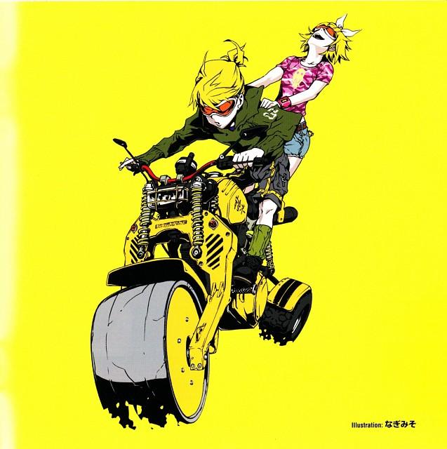 Nagimiso, Vocaloid, Len Kagamine, Rin Kagamine, Album Cover