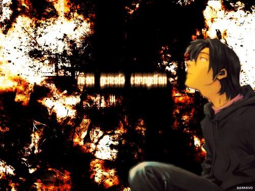 Yoshiyuki Sadamoto, Neon Genesis Evangelion, Kaji Ryoji Wallpaper