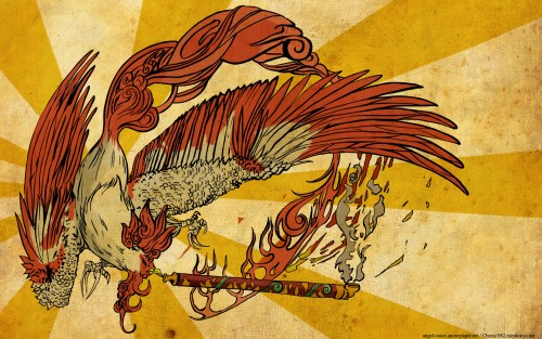 Capcom, Okami Official Illustrations Collection, Okami, Vector Art Wallpaper