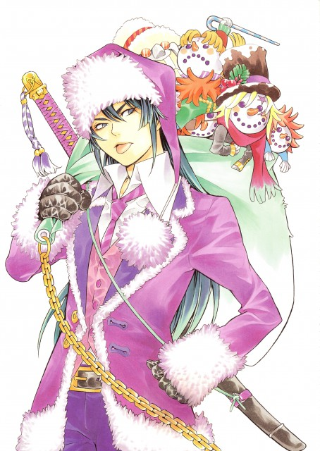 Katsura Hoshino, D Gray-Man, Noche - D.Gray-man Illustrations, Allen Walker, Howard Link