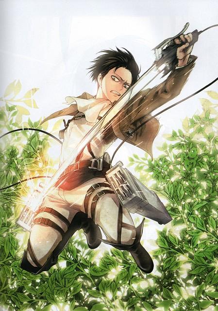 Hikaru Suruga, Production I.G, Shingeki no Kyojin, Levi Ackerman, Aria Magazine