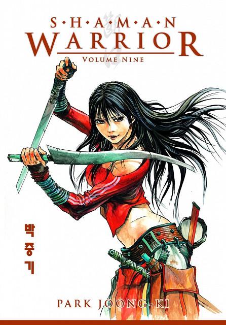 Joong Gi Park, Shaman Warrior, Manga Cover
