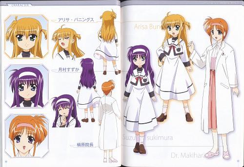Seven Arcs, Mahou Shoujo Lyrical Nanoha, Suzuka Tsukimura, Alisa Bannings, Character Sheet