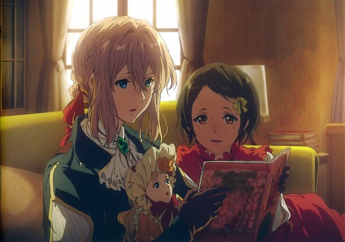 Akiko Takase, Kyoto Animation, Violet Evergarden, Violet Evergarden (Character), Ann Magnolia