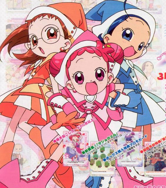 Toei Animation, Ojamajo DoReMi, Aiko Senoo, Hazuki Fujiwara, Doremi Harukaze