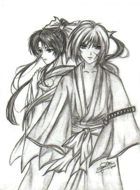 Rurouni Kenshin, Kaoru Kamiya, Kenshin Himura, Member Art