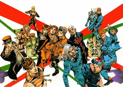 Hirohiko Araki, JoJo's Bizarre Adventure, Jotaro Kujo, Killer Queen (JoJo's Bizarre Adventure), Jonathan Joestar