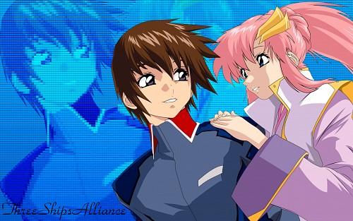Hisashi Hirai, Sunrise (Studio), Mobile Suit Gundam SEED, Lacus Clyne, Kira Yamato Wallpaper