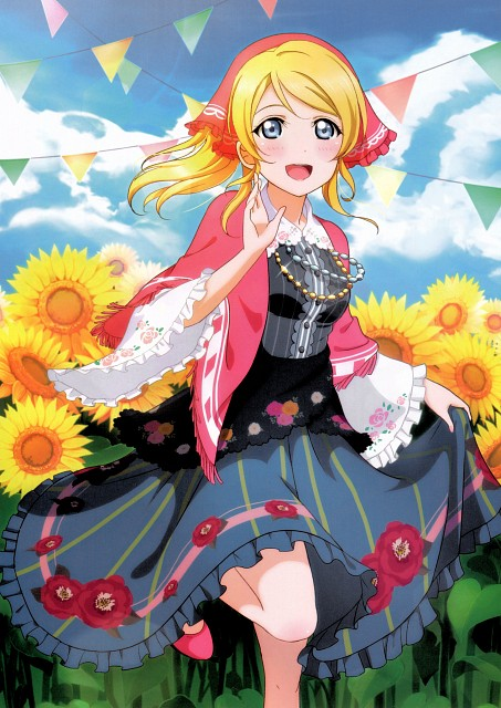 Sunrise (Studio), School Idol Festival Official Illustration Book, Love Live! School Idol Project, Eri Ayase