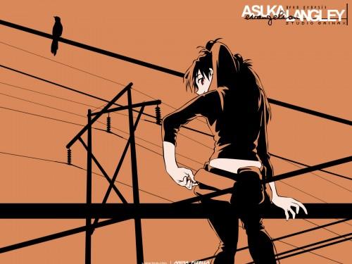 Yoshiyuki Sadamoto, Neon Genesis Evangelion, Asuka Langley Soryu, Vector Art