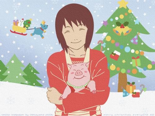 Masashi Kishimoto, Studio Pierrot, Naruto, Tonton, Shizune Wallpaper
