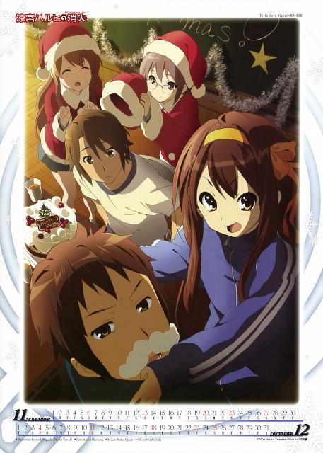 Yukiko Horiguchi, Naoko Yamada, Kyoto Animation, The Melancholy of Suzumiya Haruhi, Suzumiya Haruhi No Shoushitsu 2011 Calendar