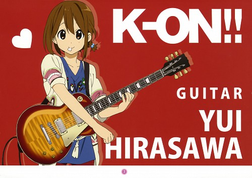 Kakifly, Kyoto Animation, K-On!, K-On! Mini Illustration Book, Yui Hirasawa
