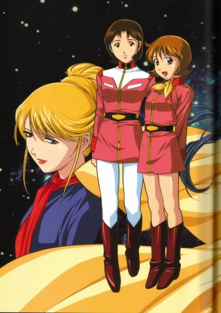 Keiji Gotoh, Sunrise (Studio), Mobile Suit Gundam - Universal Century, Mirai Yashima, Frau Bow