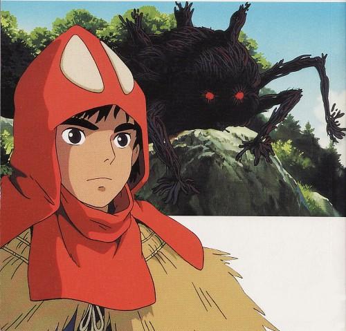 Hayao Miyazaki, Studio Ghibli, Princess Mononoke, Ashitaka