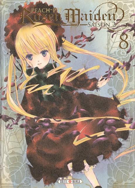 Peach-Pit, Rozen Maiden, Shinku, Manga Cover
