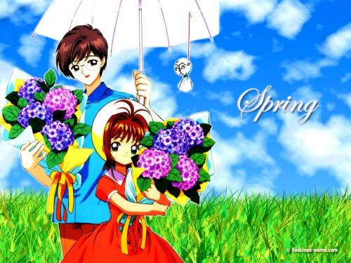 CLAMP, Madhouse, Cardcaptor Sakura, Yukito Tsukishiro, Sakura Kinomoto Wallpaper