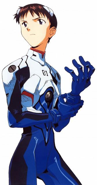 Yoshiyuki Sadamoto, Neon Genesis Evangelion, Die Sterne, Shinji Ikari
