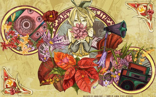 Vocaloid, Rin Kagamine Wallpaper