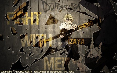 Suzuhito Yasuda, Brains Base, DURARARA!!, Izaya Orihara, Shizuo Heiwajima Wallpaper