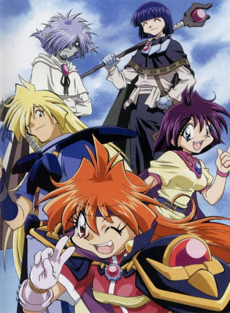 J.C. Staff, Slayers, Zelgadis Greywords, Lina Inverse, Gourry Gabriev