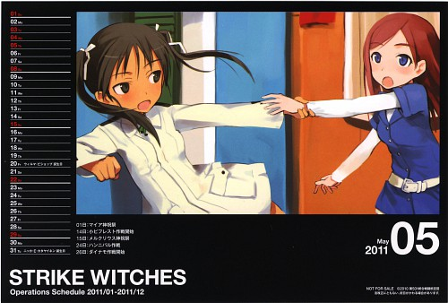 Anime International Company, Gonzo, Strike Witches, Francesca Lucchini