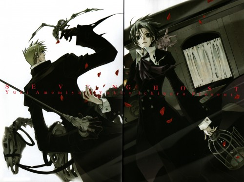 Yukino Ichihara, Yuki Amemiya, 07-Ghost, Frau, Teito Klein