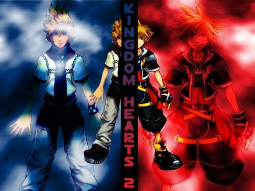 Square Enix, Kingdom Hearts, Sora, Roxas Wallpaper