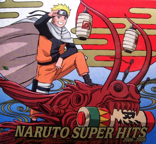 Studio Pierrot, Naruto, Naruto Uzumaki, Album Cover