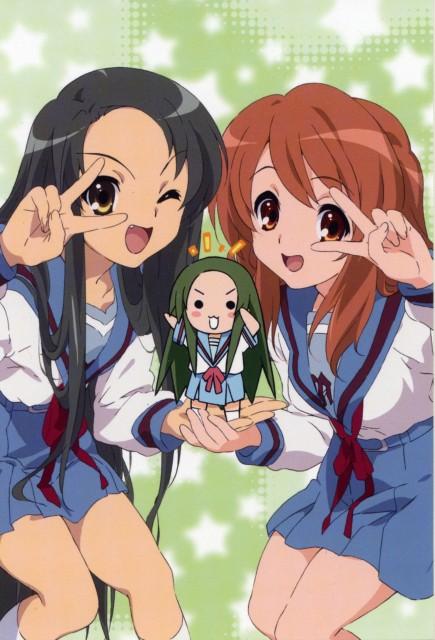 Kyoto Animation, The Melancholy of Suzumiya Haruhi, Tsuruya, Mikuru Asahina