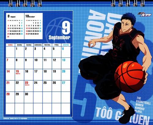 Tadatoshi Fujimaki, Production I.G, Kuroko no Basket, Kuroko No Basket Calendar 2014, Daiki Aomine