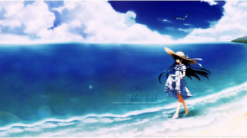Muririn, Kobuichi, Natsuzora Kanata, Chihaya Kousaka, Vector Art Wallpaper