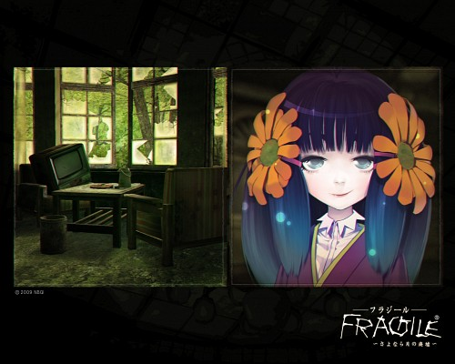 tri-Crescendo, Fragile Dreams, Chiyo (Fragile Dreams), Official Wallpaper