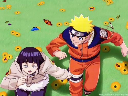 Masashi Kishimoto, Studio Pierrot, Naruto, Hinata Hyuuga, Naruto Uzumaki Wallpaper
