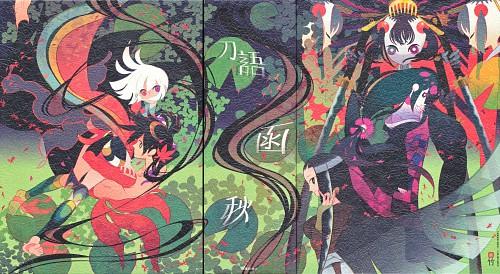 Take, White Fox, Katanagatari, Nanami Yasuri, Shichika Yasuri