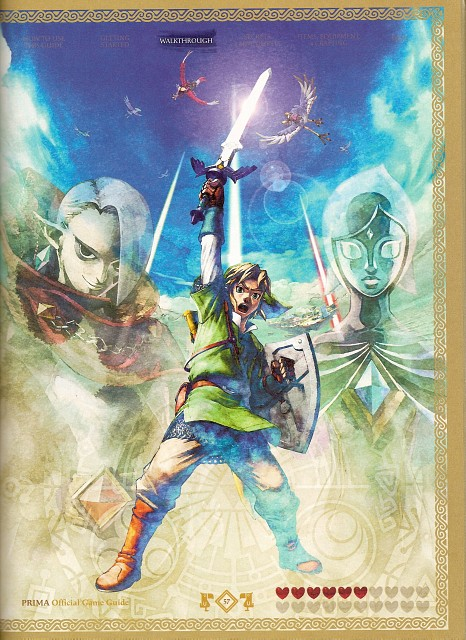 The Legend of Zelda: Skyward Sword, The Legend of Zelda, Ghirahim, Fi, Link